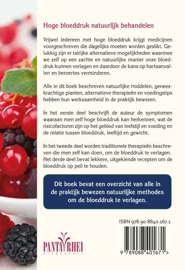 Hoge Bloeddruk Natuurlijk Behandelen Uitgeverij Panta Rhei